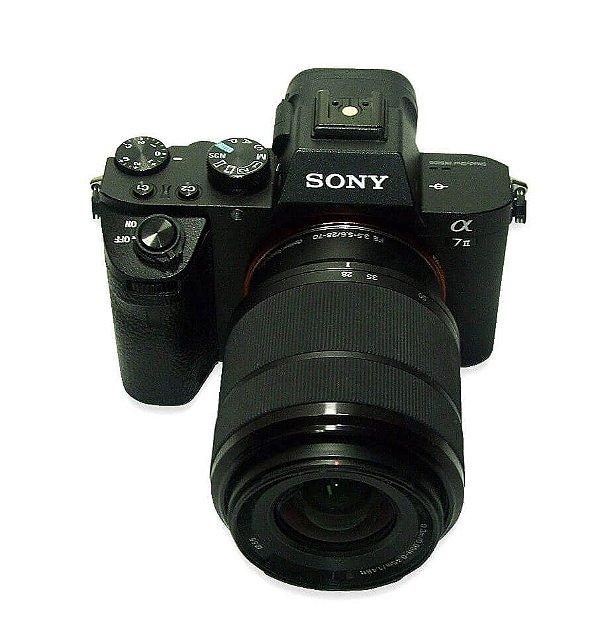 Câmera Sony Alpha7II com Lente FE 28-70mm Seminova