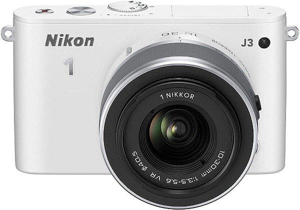 Câmera Nikon 1 J3 com Lente 10-30mm VR Seminova