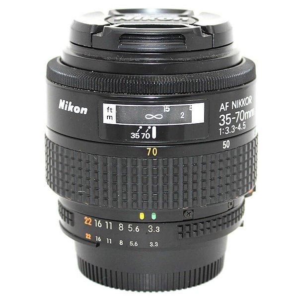Lente Nikon AF DX NIKKOR 35-70mm f/3.3-4.5 Usada