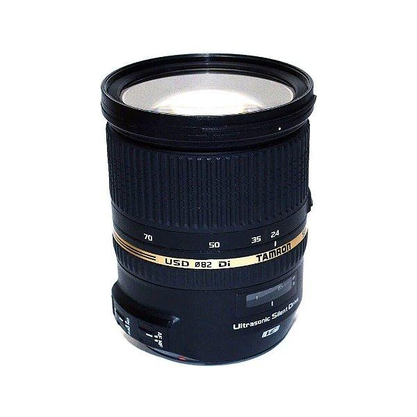 Lente Tamron SP 24-70mm f/2.8 Di VC USD G1 para Canon Seminova