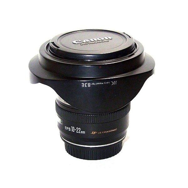 Lente Canon EF-S 10-22mm f/3.5-4.5 USM Seminova