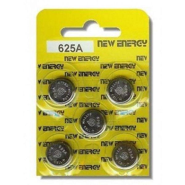 Bateria New Energy 625 Cartela com 5 Unidades