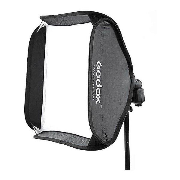 Softbox para Speedlite Godox SFUV 60x60cm