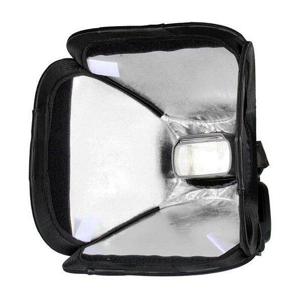 Softbox para Speedlite Godox TK-EF S23 Universal 23x23cm