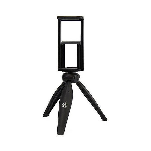 Mini Tripé WF WT-04 com Suporte para Celular e Tablet
