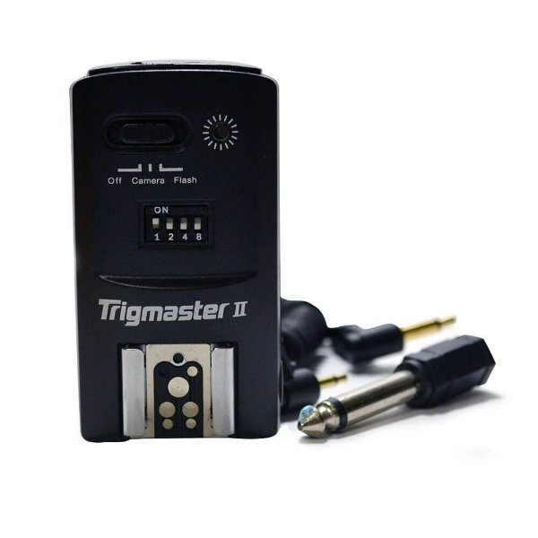 Receptor Rádio Flash Aputure Trigmaster II 2.4G MXII-rcr-N para Nikon