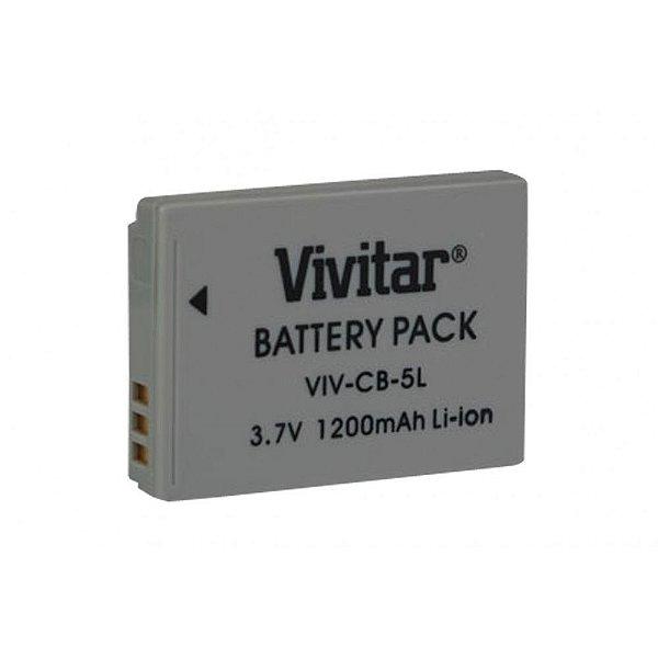 Bateria Vivitar VIV-CB-5L Similar Canon NB-5L