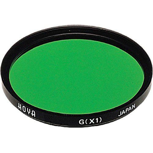 Filtro Verde X1 Hoya 62mm