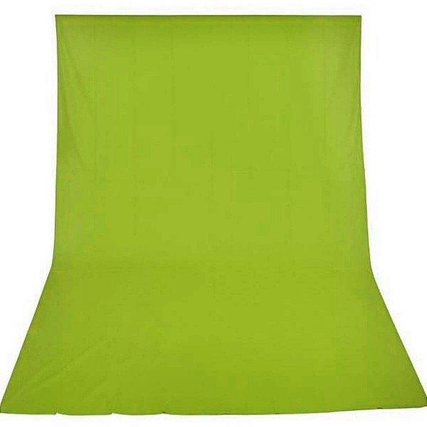 Tecido para Fundo Infinito 3x5 Cor Verde Chroma key