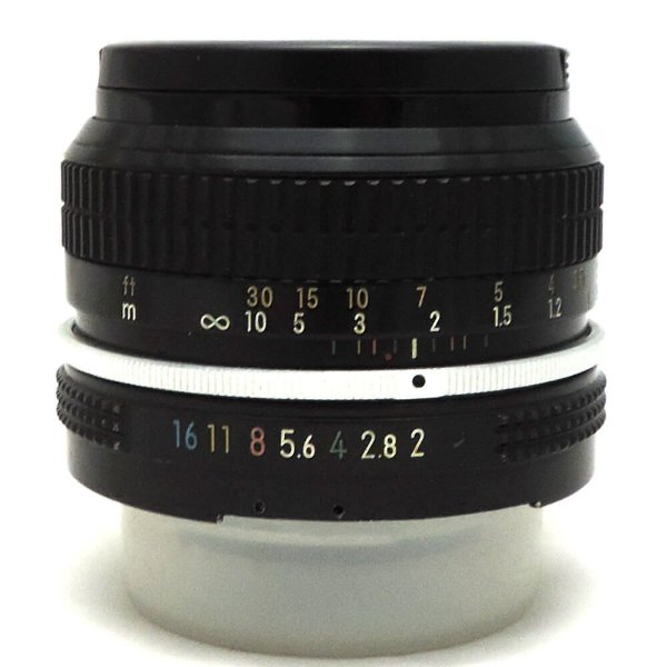Lente Nikon F NIKKOR 50mm f/2.0 Seminova
