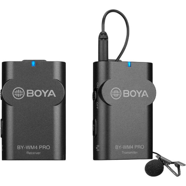 Microfone de Lapela Sem Fio Boya BY-WM4 Pro