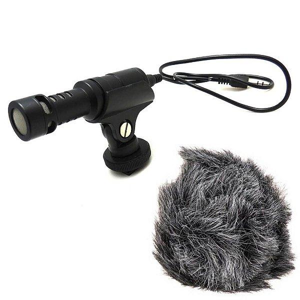Microfone Direcional Compacto Rode VideoMicro Usado