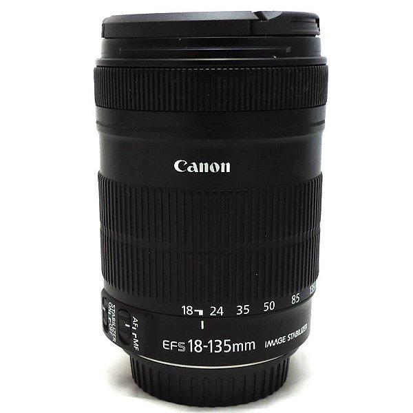 Lente Canon EF-S 18-135mm f/3.5-5.6 IS Usada