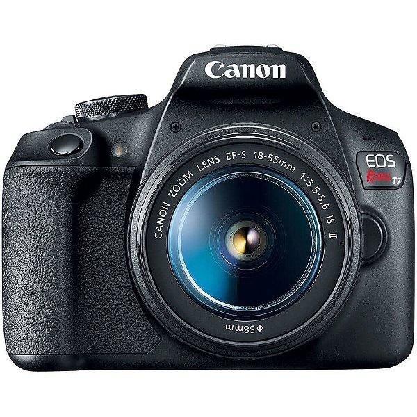 Câmera Canon EOS Rebel T7+ Kit EF-S 18-55mm IS II