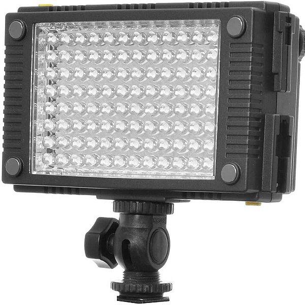 Iluminador de LED F&V Z96 com Bateria e Carregador Seminovo