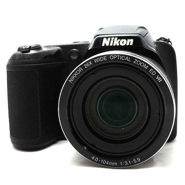 Câmera Nikon Coolpix L320 Usada