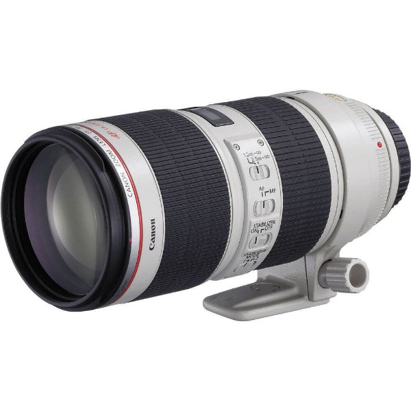 Lente Canon EF 70-200mm f/2.8L IS II USM Seminova