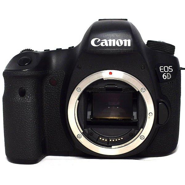 Câmera Canon EOS 6D Corpo Seminova