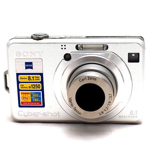 Câmera Sony Cyber-Shot DSC-W100 Usada
