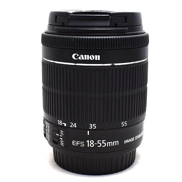 Lente Canon EF-S 18-55mm f/3.5-5.6 IS STM Usada
