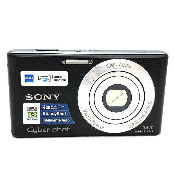 Câmera Sony Cyber-Shot DSC-W530 Usada