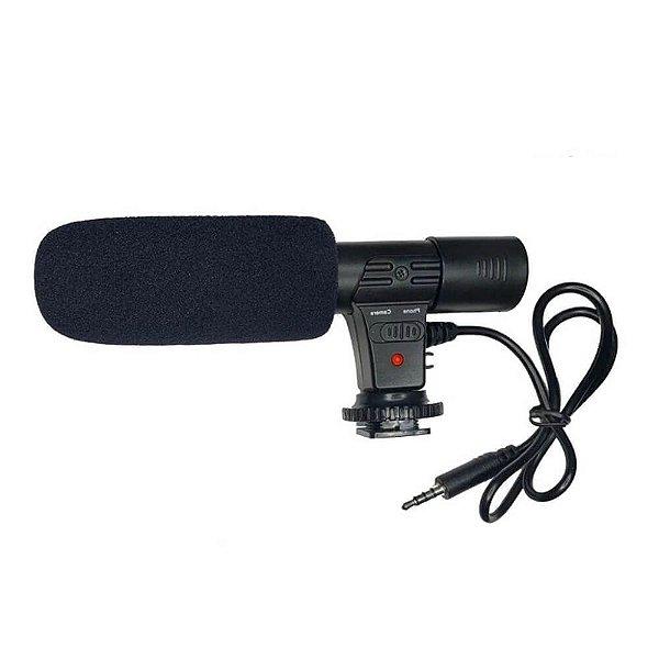 Microfone Direcional Shotgun MIC-01