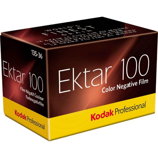 Filme Kodak Ektar 100 ISO 100 35mm 36 Poses Colorido