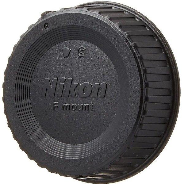 Tampa Traseira com Logo para Lente Nikon
