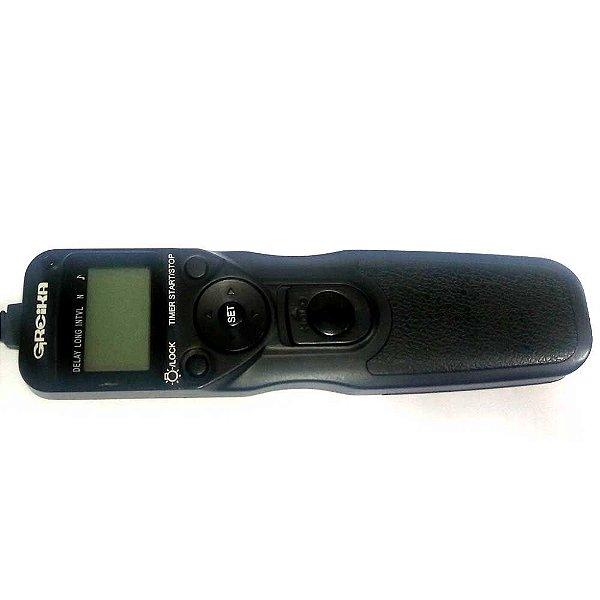 Cabo Disparador com Timer Greika EZA-N3 para Nikon Usado