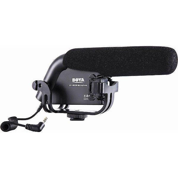Microfone Direcional Shotgun Boya BY-VM190