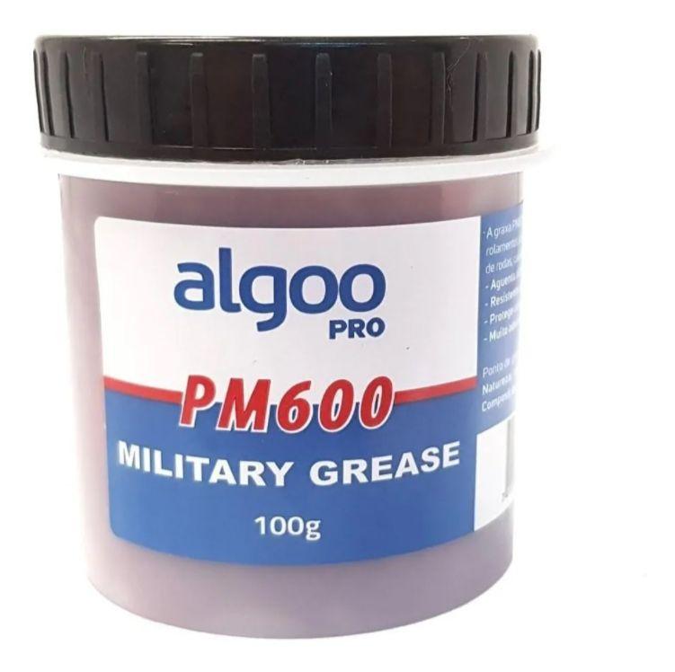 Graxa Militar Algoo Pro Pm600 Resistência Proteção Bike 100g