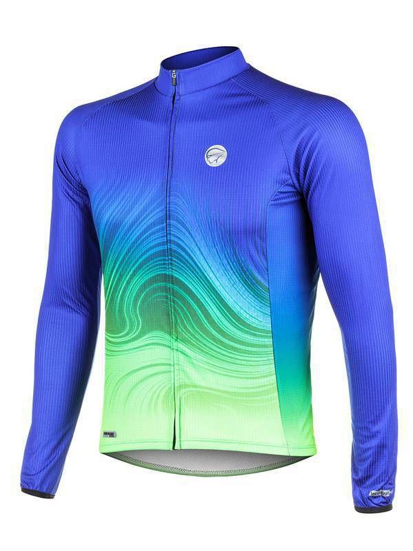 Camisa Ciclismo Mauro Ribeiro Manga Longa Streak Masculina
