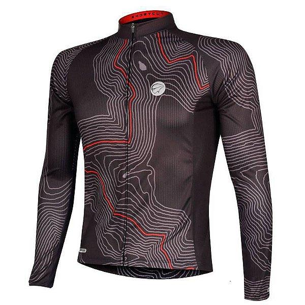 Camisa Ciclismo Manga Longa Mauro Ribeiro Short Cut UV50+