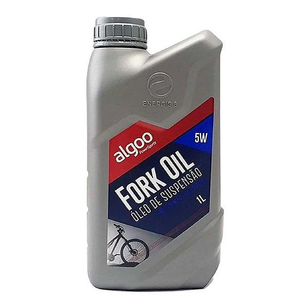 Óleo Suspensão Bike 100% Sintético 1 Litro Algoo Fork Oil 5w