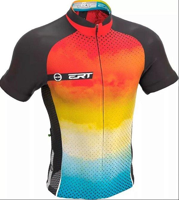 Camisa Ciclismo Ert New Tour Sunny Bike Mtb Speed