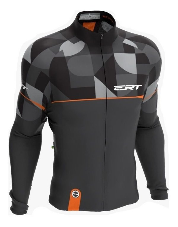 Camisa Manga Longa Ciclismo Ert New Tour Mosaic Mtb Speed