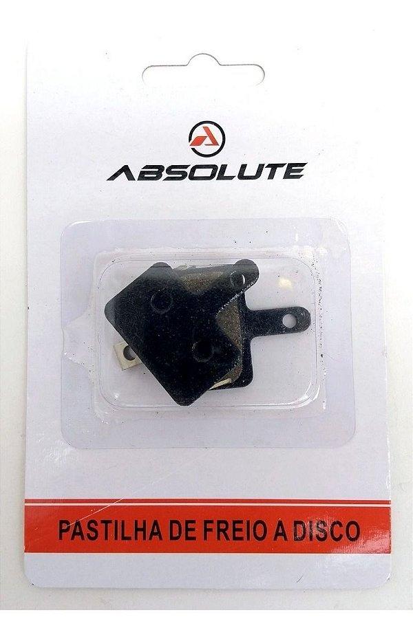 Pastilha Freio Disco Bike M315 M395 M446 M355 Abs-01a