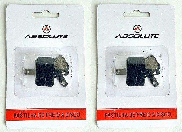 Kit 2 Pastilha Freio Disco Bike M315 M395 M446 M355 Abs-01a