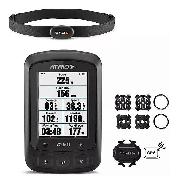 Gps Atrio Titanium Bi155 Bluetooth Cinta + Sensores + Mapas