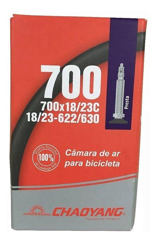 Câmara Ar Chaoyang Speed 700 X18/23 Bico Presta Fino 48mm