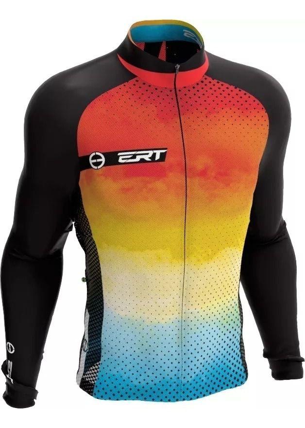 Camisa Manga Longa Ciclismo Ert New Tour Sunny Mtb Speed