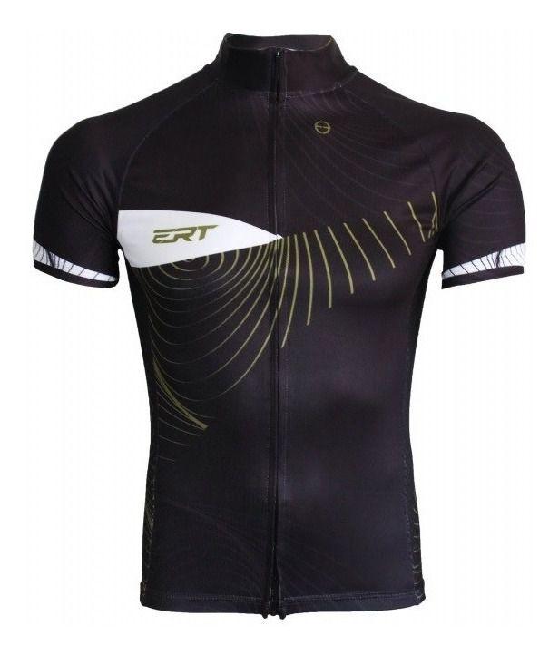 Camisa Ciclismo Ert New Tour Gold Bike Mtb Speed