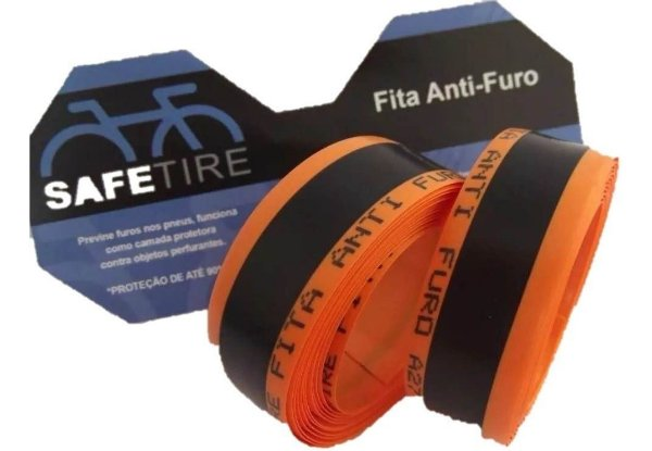 Fita Anti Furo Safe Tire 23mm Aro 700  Speed Bike (par)