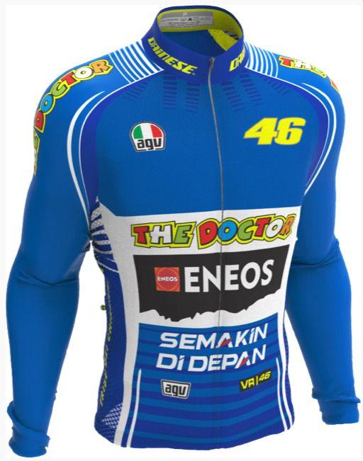 Camisa Manga Longa Ert New Tour Valentino Rossi