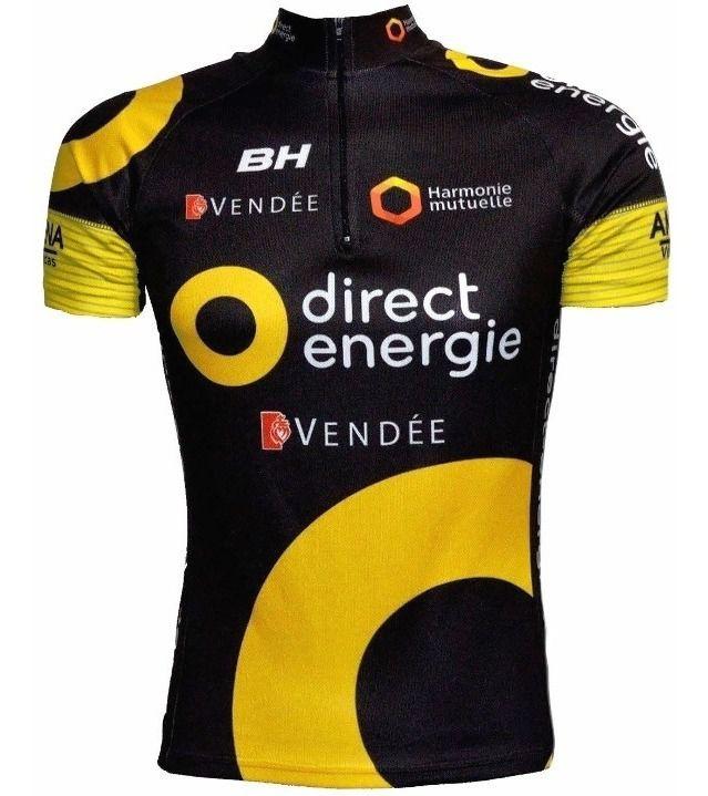 Camisa Ciclismo Bicicleta Ert Direct Energie Bike Mtb Speed