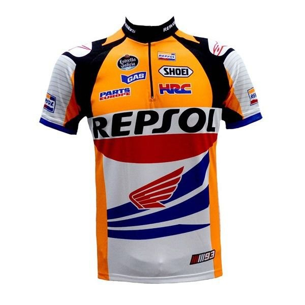 Camisa Ciclismo Ert Repsol Honda  Mtb Speed