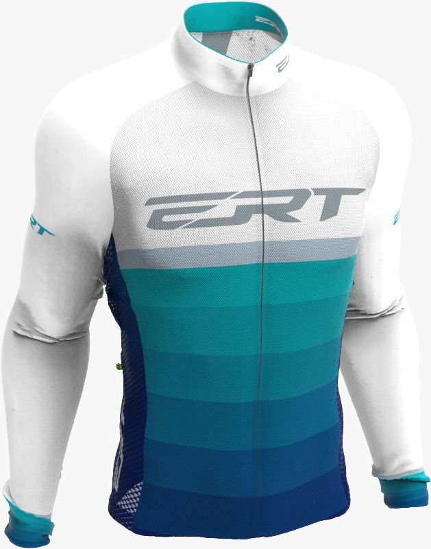 Camisa Manga Longa Ciclismo Ert New Adriatico Mtb Speed