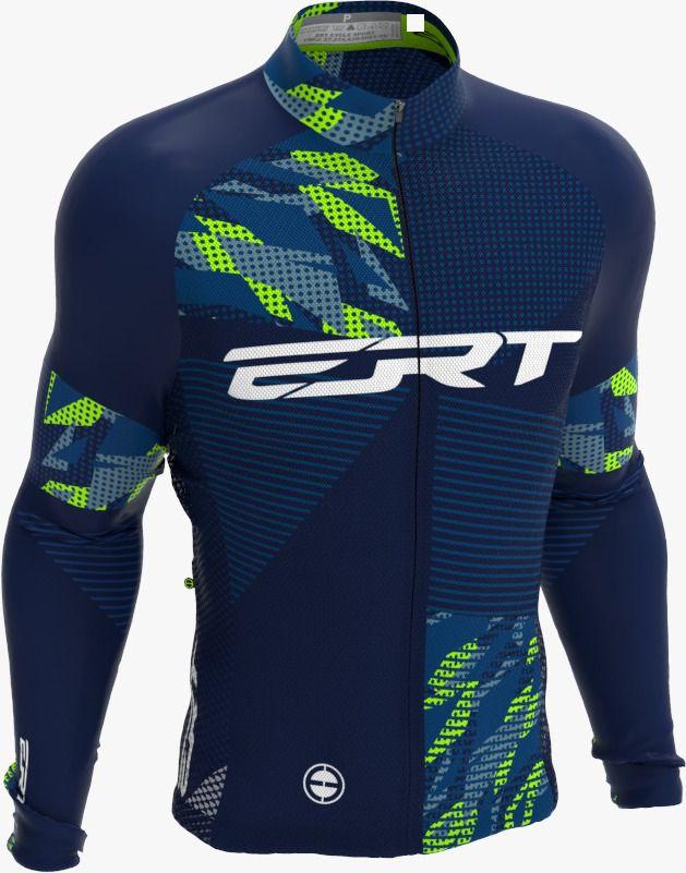 Camisa Manga Longa Ciclismo Ert Nova Tour New Dots