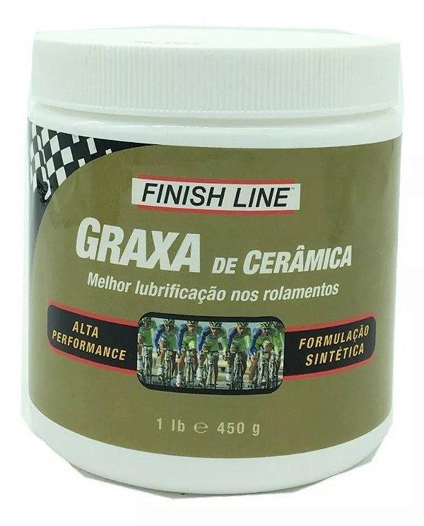 Graxa Cerâmica Finish Line 450g Alta Performance Bike