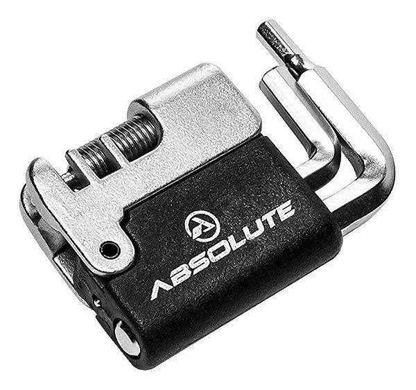 Chave Canivete Multiuso Ciclista Bike Absolute 5 Funções MTB